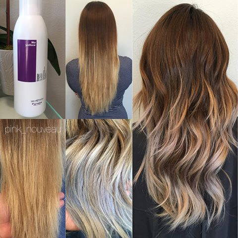 Blonde hair purple shampoo color balance purple shampoo for 180 degree salon